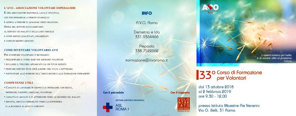 FRONTE Brochure-Avo Formazione-Volontari-2018